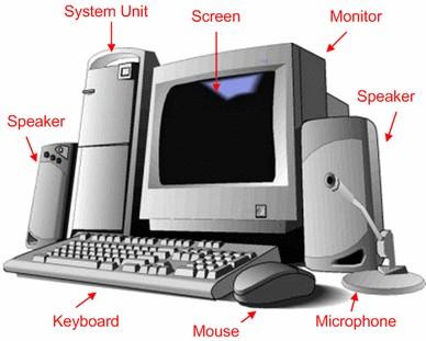 أجزاء الكمبيوتر