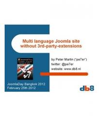 Multi language Joomla site without 3rd-party-extensions