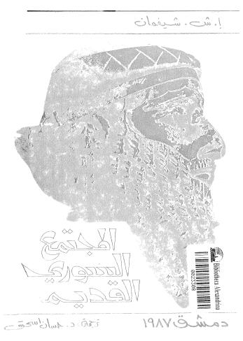 المجتمع السورى فى عصر البرينتسيبات