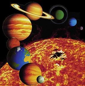 معلومات أساسية حول النظام الشمسي